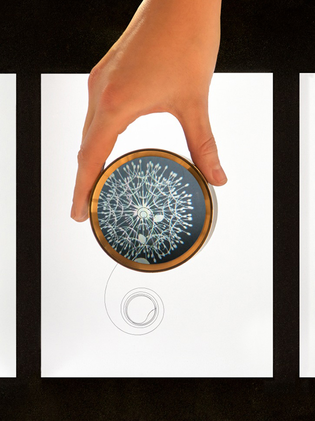 interactive installation for Vacheron Constantin at the SIHH